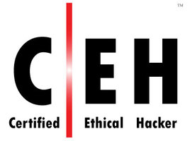 Certified Ethical Hacker certificate badge